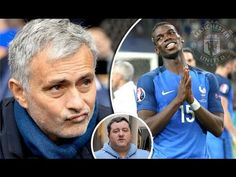 Paul Pogba rejected Real Madrid to return 'home' to Manchester United, h. Football Latest, Paul Pogba, Manchester United, Real Madrid, Einstein, The Unit, Baseball Cards, Youtube, Man United