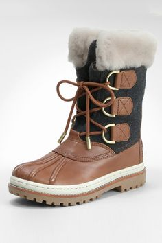 I am fully aware that these are Tory Burch Duck Boots. I don't care. A duck boot by any other name wouldn't be as cute.