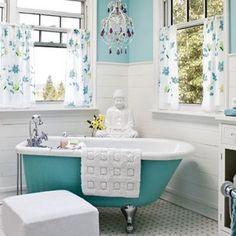 Vintage aqua tub and BUDDAH!