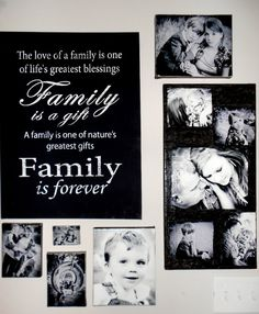 Family canvas collage for living room wall Family Wall Collage, Photo Wall Collage, Photo Canvas, Picture Collages, Family Canvas, Canvas Collage, Families Are Forever, Picture Photo, Picture Walls