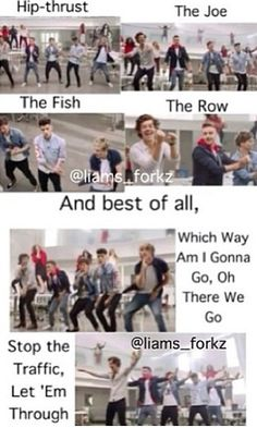 Iconic one direction dance moves One Direction Images, One Direction Niall, One Direction Wallpaper, Direction Quotes, One Direction Lyrics, Zayn Malik, Niall Horan, The Words, Liam Payne