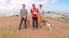 Bernal Hill selfie. Up on Bernal Hill yesterday with Zach and Nick.  Want to borrow a drone, or learn how to fly one?  → → http://photojojo....