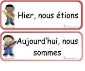 Différentes étiquettes pour le calendrier . Love ! Also going to use the bonne fête cards for birthdays and have the class sign them for team building. French Teaching Resources, Teaching French, Teaching English, Classroom Tools, Classroom Activities, Classroom Management, French Verbs, French Education, French Classroom