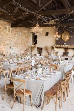 Domaine de Patras - Mariage - Photographe Provence - Fanny Tiara - Wedding diner - decoration