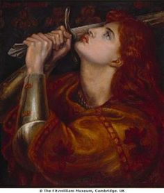 Dante Charles Gabriel Rossetti Joan of Arc print for sale. Shop for Dante Charles Gabriel Rossetti Joan of Arc painting and frame at discount price, ships in 24 hours. Dante Gabriel Rossetti, John Everett Millais, Saint Joan Of Arc, St Joan, Joan D Arc, Jeanne D'arc, Painting Prints, Canvas Prints, Art Prints