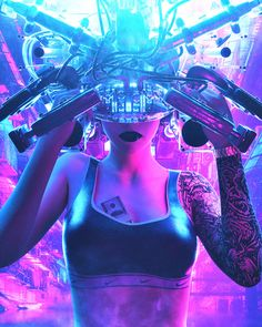 Cyberpunk Color Palette: High-Tech-Inspired Design Trend 2020 Cyberpunk 2077, Cyberpunk Games, Cyberpunk Girl, Arte Cyberpunk, Cyberpunk Fashion, Blade Runner, Dystopian Art, Dystopian Society, Cyberpunk Aesthetic