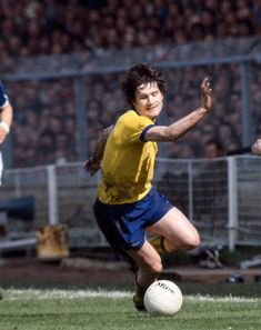 Pat Rice of Arsenal in action in the 1978 FA Cup Final. Arsenal Fc, Arsenal Football, Millwall, Fa Cup Final, Finals, Rice, Action, Running, Division