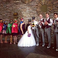 Action Heroes Ninjas Make R S Dream Wedding Come True