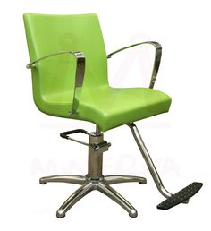 green styling chair