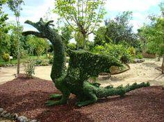 Jardín botánico lleno de hadas
