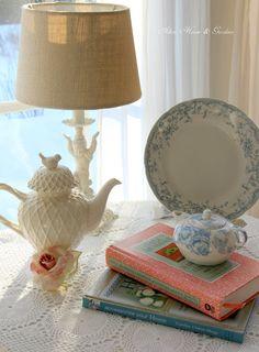 Aiken House & Gardens: Soft and Pretty Vignette