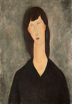 030c00cd3 Buste de femme (Busto de mujer) (Bust of A Woman) by Amedeo Modigliani, oil  on canvas,