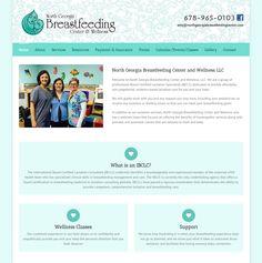 Lactation Consultant, Portfolio Web Design, Event Calendar, Breastfeeding, Georgia, Wordpress, Baby Feeding, Breast Feeding, Nursing