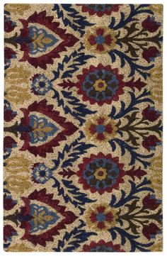 Nourison - Nourison Wav17 Greetings Wgt01 Red Area Rug #140605