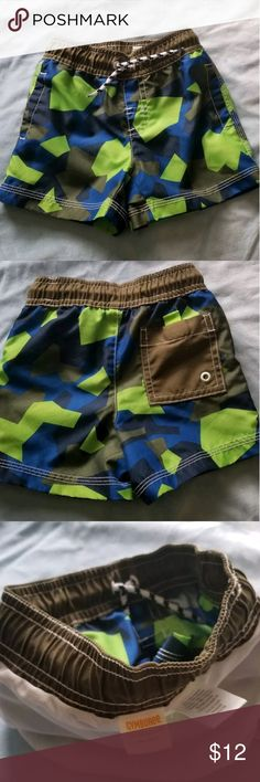 45538b5cef6a2 Baby Boys Gymboree Swimming Shorts sz 12-18 mo. Excellent condition! Take a
