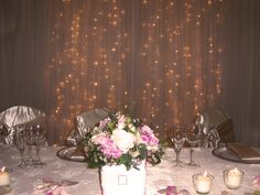 January Wedding Show  Top table idea