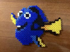 Dory perler beads by disneyfreak8