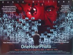 September 13th (2002): One Hour Photo, Mark Romanek (dir).    A department store photo clerk, Seymour 'Sy' Parrish, is exceptionally knowledgeable about photography, and has been developing photos for the Yorkin family since their son was a baby. However, Sy also lives a very solitary and lonely life - with no wife, girlfriend, or family in the picture. Sy begins to develop a disturbing obsession with the Yorkins and what they have...