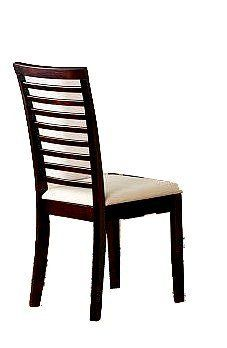 "Set of 2 Solid Wood Ladder Back Dining Chairs by AtHomeMart. $101.22. Dining and Kitchen - Dining Chairs. Shipping and Handling Fees Included. Usually ships within 1-2 business days via Ground Shipping. Set of 2 Solid Wood Cross Back Dining Chairs. Dimension: 18""W X 18""D X 37""H. Brand new in the original box. Assembly required. Set of 2 Solid Wood Ladder Back Dining Chairs in Mahogany Finished.  Fine craftsmanship and comfort come together in this set of two dining chairs..."