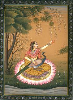 Ragini Sorathi, The Second Consort of Raga Megha