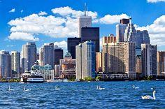 Sprachreise nach Toronto Skyline