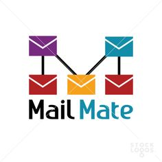 This simple logo is good for using in new services of email on internet or in mobile app!