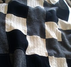 Upcycled Warm Wool Lap Quilt