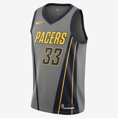5d16fb28bf7 Myles Turner City Edition Swingman (Indiana Pacers) Men s Nike NBA  Connected Jersey