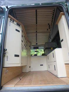 Innenausbau LR 110 komplett