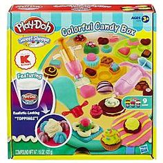 Play-Doh Sweet Shoppe Colorful Candy Box Set - Kmart Exclusive