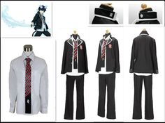 Ao no Blue Exorcist Rin Okumura cosplay costume BEST costume