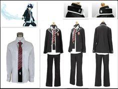 Ao no Blue Exorcist Rin Okumura cosplay costume BEST costume