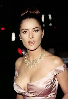 Salma Hayek at the 1997 People's Choice Awards