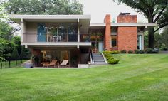 A three-bedroom contemporary in Westwood, Mo., a village 15 miles from downtown St. Louis, is on the market for $1,498,000. Built in 1970, the house was designed by Ted Christner, a St. Louis-area architect whose firm has received awards from the American Institute of Architects.  NYTimes.com
