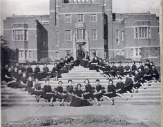 Ladies of Alpha Kappa Alpha Sorority, Inc., found on the campus of Howard University, 1908 - oldest black sorority.