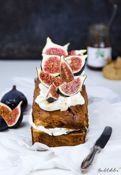 Fig + Mascarpone Creme Loaf