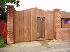 Norfolks premier timber gate manufacturer and erectors supplying trade and domestic, wooden gates and steel mix gates at oak pineaffordable prices Timber Gates, Wooden Gates, Timber Wood, Wooden Doors, Front Gates, Entrance Gates, Wooden Electric Gates, Gate House, Driveway Gate