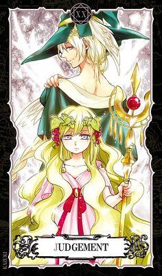 Magi: The Labyrinth of Magic Tarot Card