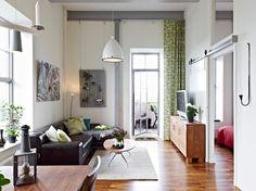 Como aprovechar el espacio en un piso de techos altos