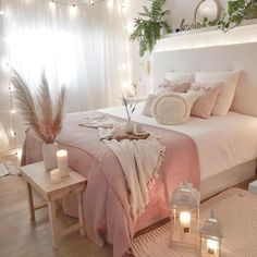 bedroom decor for couples . bedroom decor ideas for women . bedroom decor for small rooms . bedroom decor ideas for couples . Girl Bedroom Designs, Room Ideas Bedroom, Home Decor Bedroom, Diy Bedroom, Budget Bedroom, Bedroom Furniture, Decor Room, Bedroom Inspo, Colors For Girls Bedroom