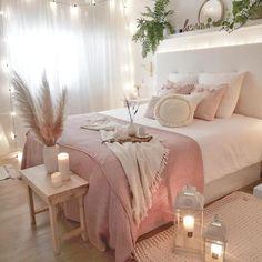 bedroom decor for couples . bedroom decor ideas for women . bedroom decor for small rooms . bedroom decor ideas for couples . Girl Bedroom Designs, Room Ideas Bedroom, Home Decor Bedroom, Diy Bedroom, Budget Bedroom, Bedroom Furniture, Decor Room, Bedroom Inspo, Girls Pink Bedroom Ideas