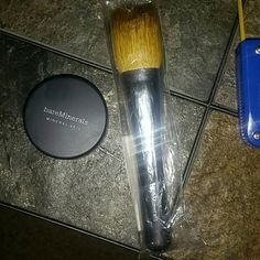 bareMinerals Mineral Viel / Full Flawless Brush Selling these two item's together  Original Mineral Viel 0.07 OZ sealed as picture shows Full Flawless Face Brush sealed as well  Asking price $20 for both item's together  Willing to check out offers as well ? Retails at a $46.00 value these were purchased  separately and I just have way too much makeup  Happy Poshing  ?? bareMinerals Makeup Face Powder