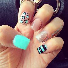 Fun nail colors and design
