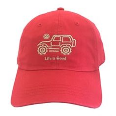 baeb091c2c3 Life is Good Native Off-Road Chill Hat - Red