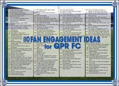 A fan engagement infographic I did up for Queens Park Rangers in the EPL