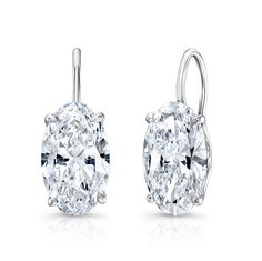 Oval Drop Earrings - EARRINGS - JEWELRY