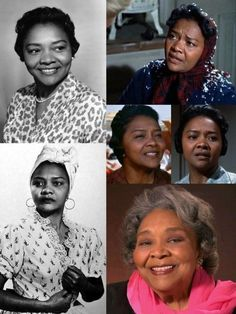 was an American film, TV, & stage actress. She was the fifth African American to be nominated for an Academy Award in any category, Black History Facts, Black History Month, Black Actresses, Black Actors, Black Celebrities, Classic Actresses, Celebs, Divas, African American Women