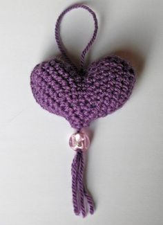 Project Cupid.  Use as an ornament or as a sachet.  Or use your imagination.
