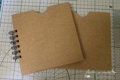 PAP de envelope para mini album (DIY)