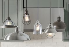 Island illumination? We're on it. Our best and brightest kitchen pendants keep your countertop spaces well-lit with stylish, space-savvy designs. Happy cooking!